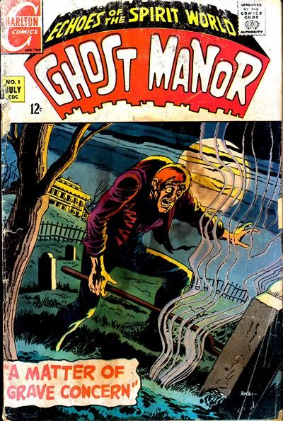 Ghost Manor Vol. 1 #1 – 19 + Vol. 2 #1 – 77 (1968-1984)