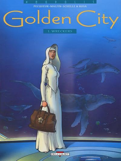 Golden City #1 – 11 + TPB Vol. 1 – 10 (1999-2018)