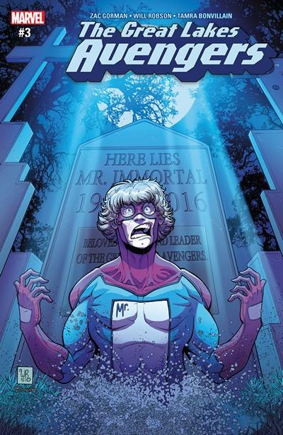 Great Lakes Avengers #3 (2016)