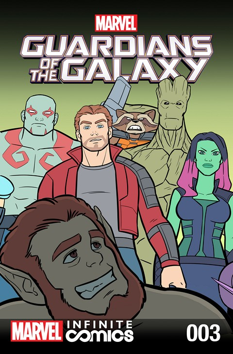 Guardians of the Galaxy – Awesome Mix Infinite Comic #3 (2016)