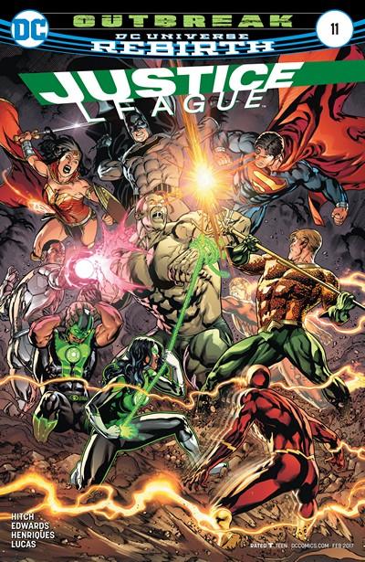 Justice League #11 (2016)
