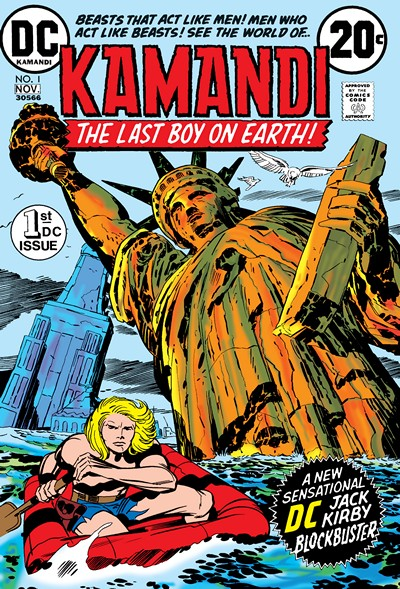 Kamandi Vol. 1 #1 – 061 + At Earths End (1972-1993)