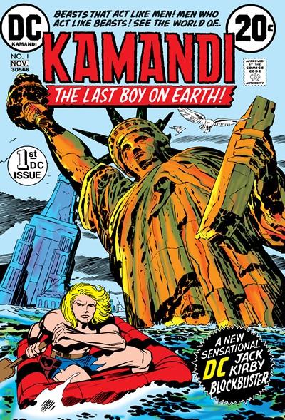 Kamandi Vol. 1 #1 – 061 + At Earths End (1972-1993)