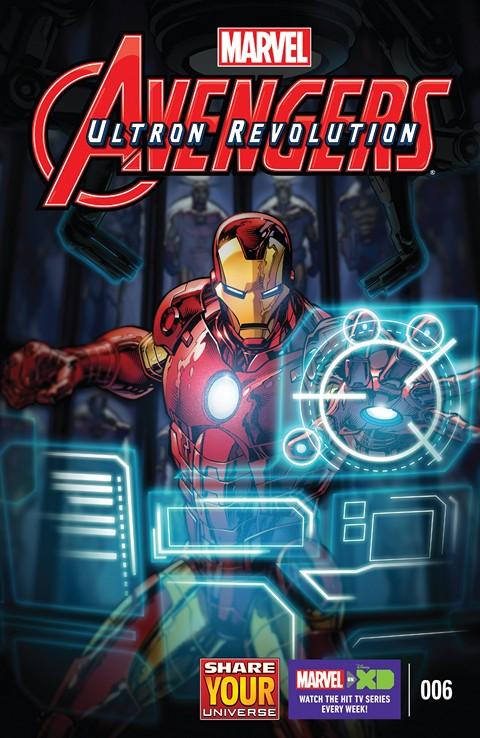 Marvel Universe Avengers – Ultron Revolution #6 (2016)