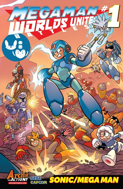 Mega Man – Worlds Unite Battles #1 (2015)