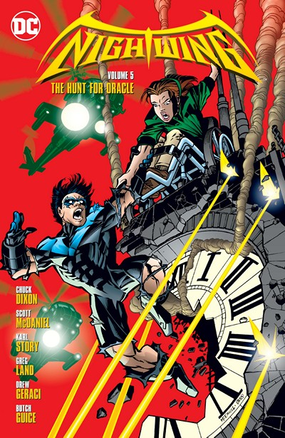 Nightwing Vol. 5 – The Hunt for Oracle (2016)