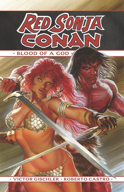 Red Sonja – Conan Vol. 1 – The Blood of a God (2016)