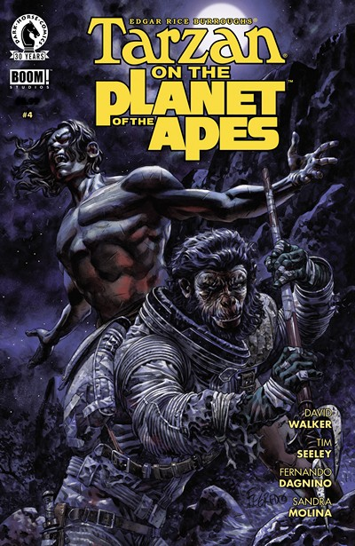 Tarzan on the Planet of the Apes #4 (2016)
