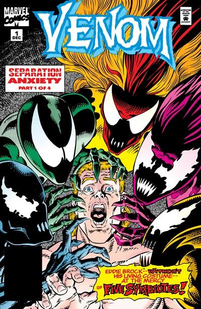 Venom – Separation Anxiety #1 – 4 (1994-1995)