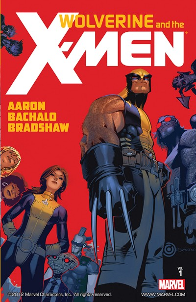 Wolverine and the X-Men By Jason Aaron Vol. 1 – 8 (2012-2014)