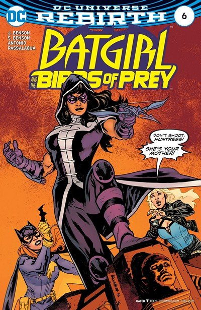 Batgirl and the Birds of Prey #6 (2017)