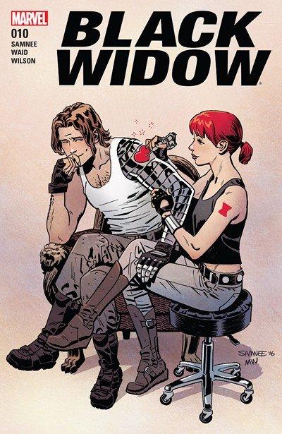 Black Widow #10 (2017)