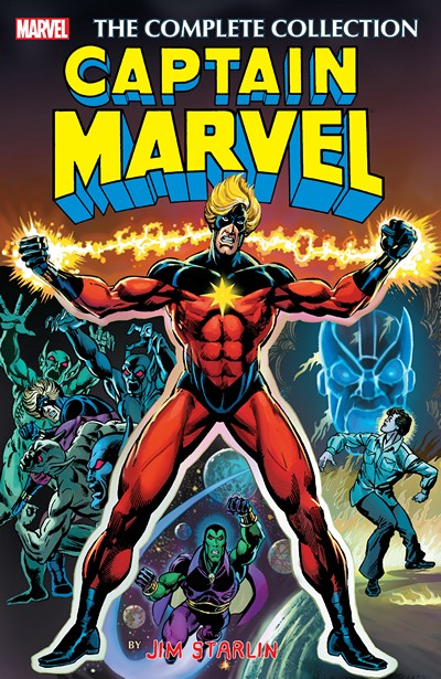 Captain Marvel by Jim Starlin – The Complete Collection (2016)