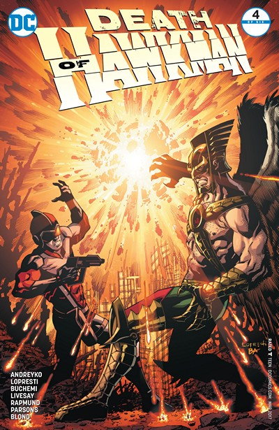 Death of Hawkman #4 (2017)