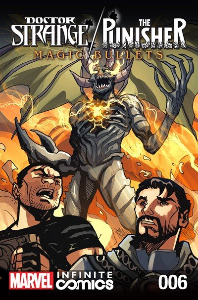 Doctor Strange – The Punisher – Magic Bullets Infinite Comic #6 (2017)