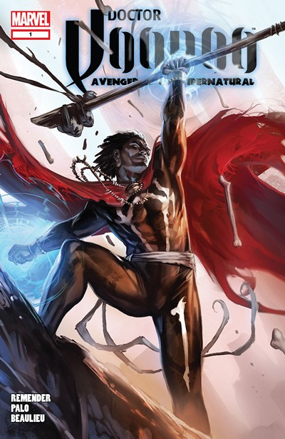Doctor Voodoo – Avenger of the Supernatural #1 – 5 (2009-2010)