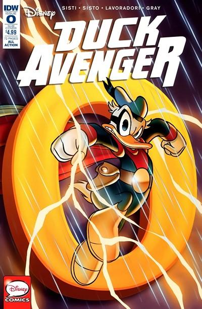 Duck Avenger #0 – 2 (2016)