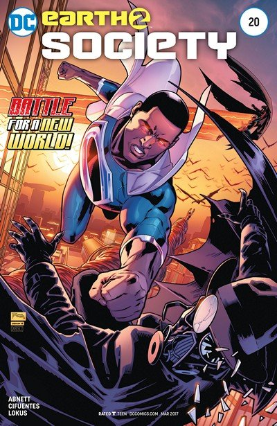 Earth 2 – Society #20 (2017)