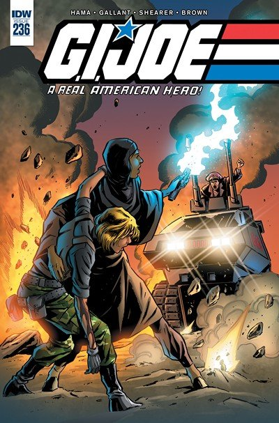 G.I. Joe – A Real American Hero #236 (2017)