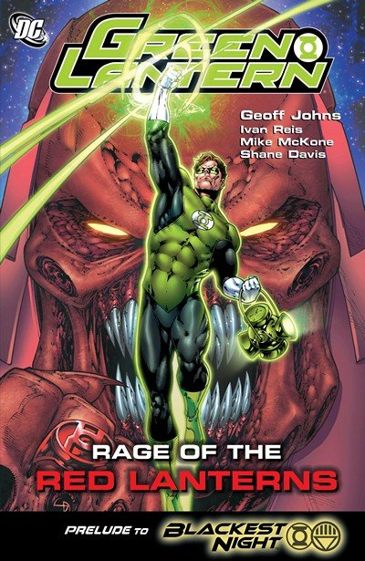 Green Lantern – Rage Of The Red Lanterns (2009)