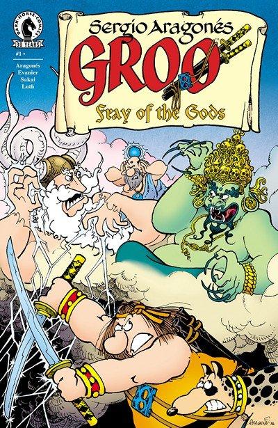 Groo – Fray of the Gods #1 – 4 (2016-2017)