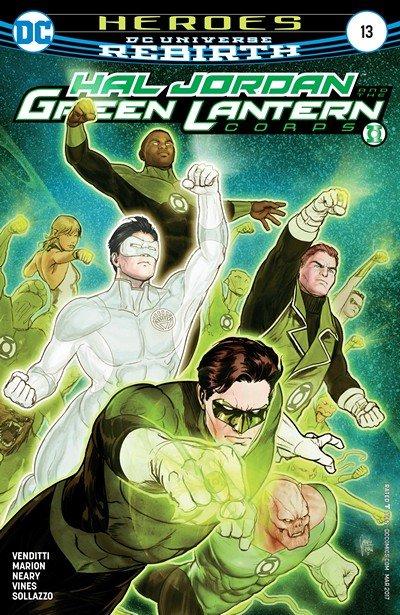 Hal Jordan and the Green Lantern Corps #13 (2017)