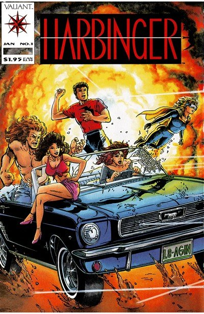 Harbinger Vol. 1 #0 – 41 (1992-1995)