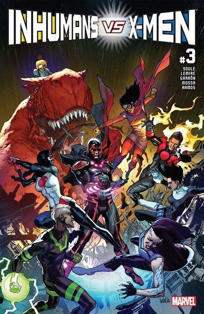 Inhumans vs. X-Men #3 (2017)