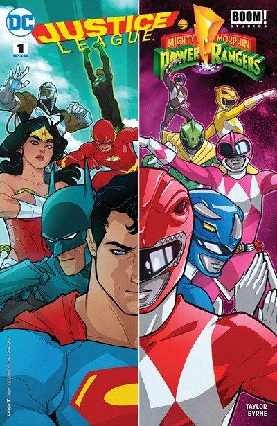 Justice League-Power Rangers #1 (2017)