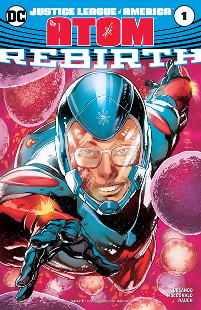 Justice League of America – The Atom – Rebirth #1 (2017)