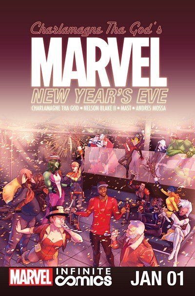 Marvel New Year's Eve Special Infinite Comic #1 (2017)