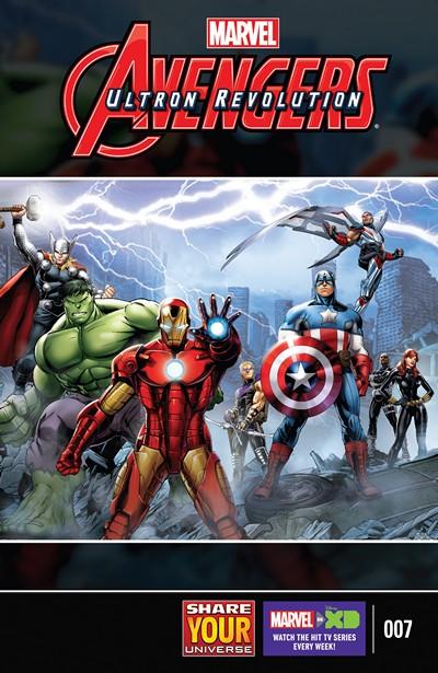 Marvel Universe Avengers – Ultron Revolution #7 (2017)