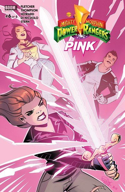 Mighty Morphin Power Rangers – Pink #6 (2017)