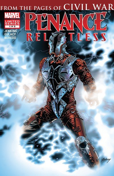 Penance – Relentless #1 – 5 (2007-2008)