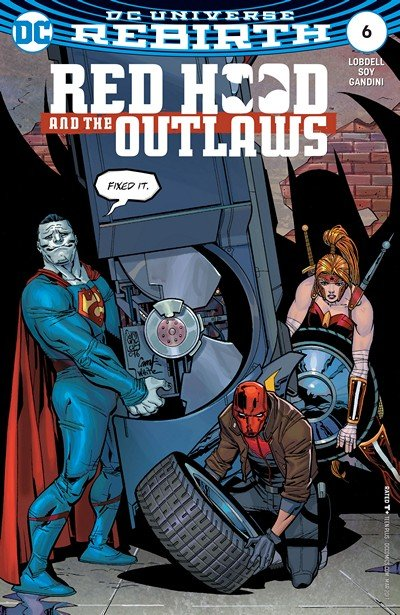 Red Hood & the Outlaws #6 (2017)