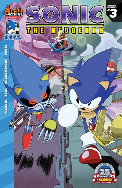 Sonic the Hedgehog #290 (2017)