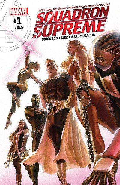 Squadron Supreme Vol. 4 #1 – 15 (2016-2017)