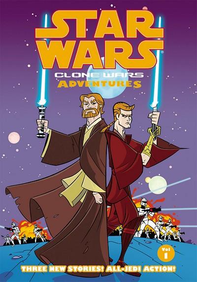 Star Wars – Clone Wars Adventures Vol. 1 – 10 (2004-2007)