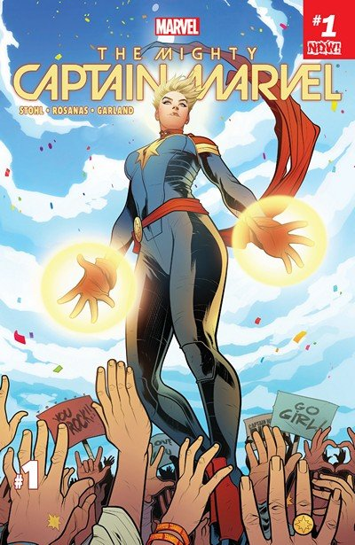 The Mighty Captain Marvel #1 (2017)