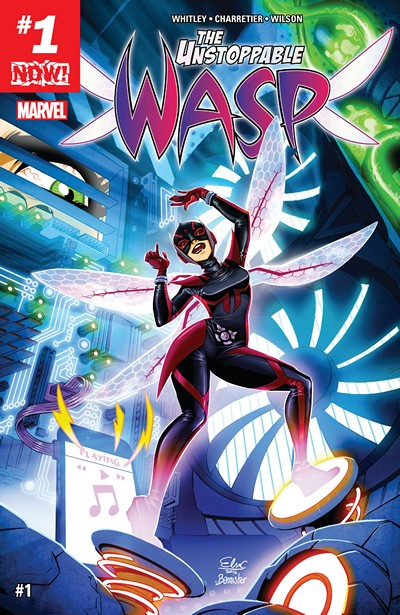 The Unstoppable Wasp #1 – 8 (2017)