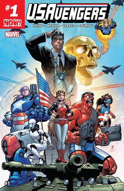 U.S.Avengers #1 – 12 (2017-2018)