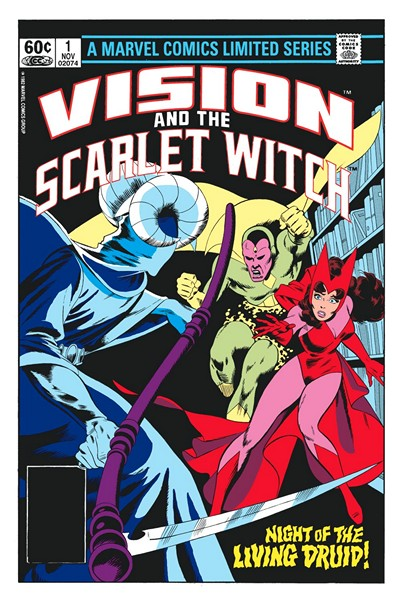 Vision and the Scarlet Witch Vol.1 #1 – 4 (1982)