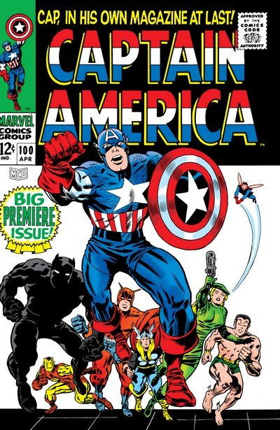 Captain America (Chronological Issues Collection) (1959-2018)