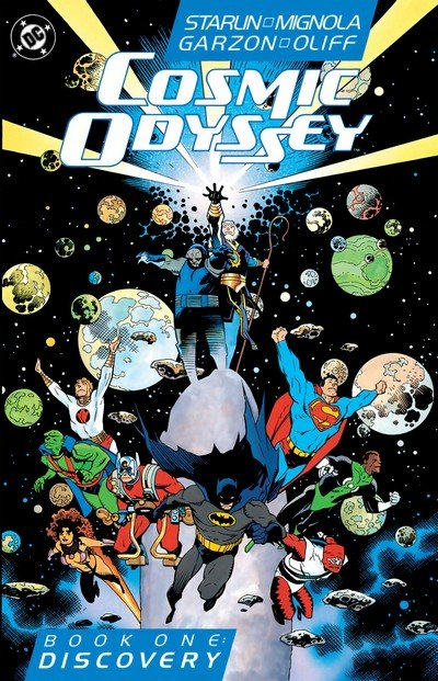 Cosmic Odyssey #1 – 4 (1988)