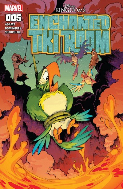 Enchanted Tiki Room #5 (2017)