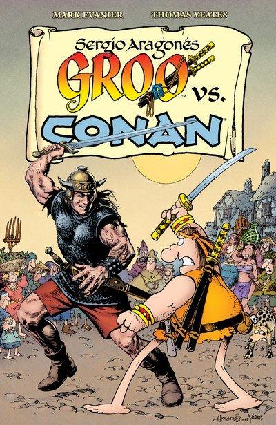 Groo vs. Conan (2015)
