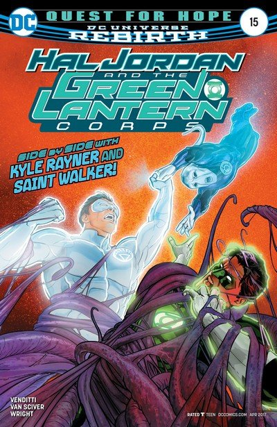 Hal Jordan and the Green Lantern Corps #15 (2017)