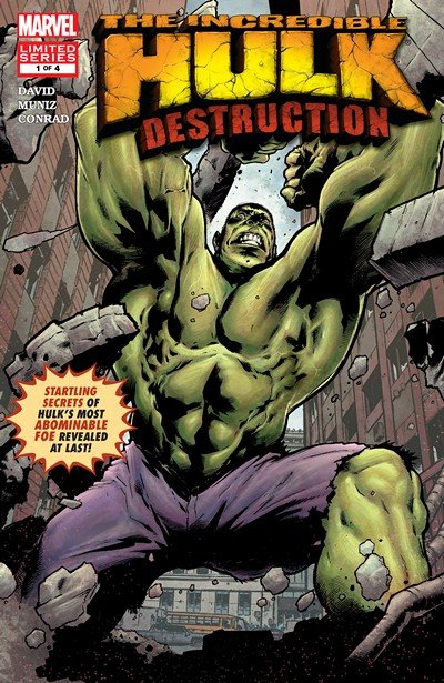 Hulk – Destruction #1 – 4 (2005)