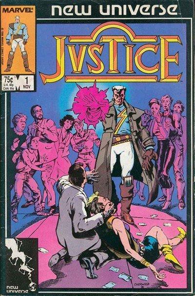 Justice Vol. 1 #1 – 32 (1986-1989)
