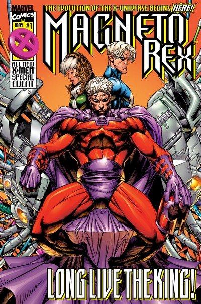 Magneto Rex #1 – 3 (1999)